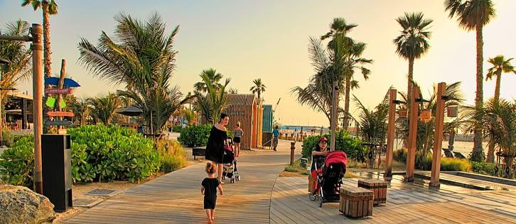 najlepsze plaże dubaju